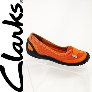 Women's Privo Shoes Flats Driving Shoes Orange 7.5